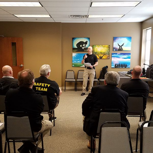 Individual Team Training - Sentry One Consulting Group - Church Safety & Security