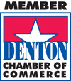 Member of Denton Chamber of Commerce