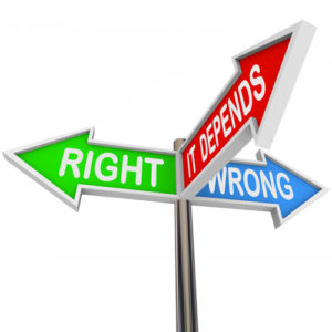 Arrows: Right, Wrong, It Depends - Church Safety SOPs